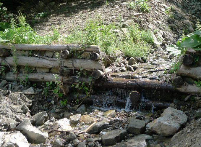 Iniziati gli interventi del Consorzio sul Fosso delle Piagge e sul Fosso Grosso a Capanne di Sillano