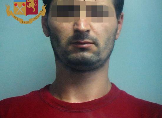 Arrestato per furto rumeno già espulso dall'Italia