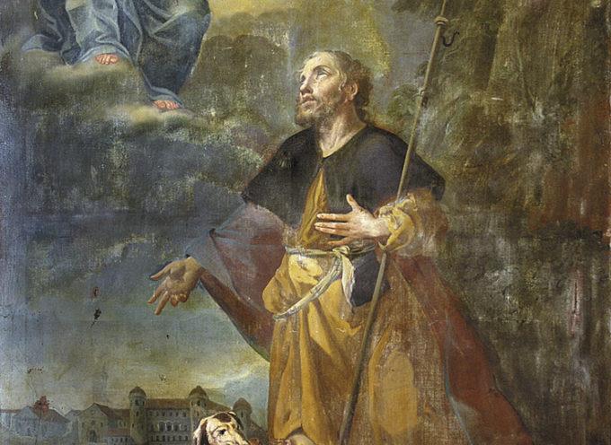 Il Santo del giorno, 16 Agosto: S. Rocco, invocato contro la peste,
