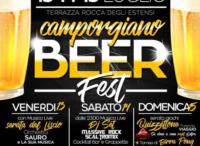 """""""Camporgiano Beer Fest"""" – Terrazza Rocca Estense –"""