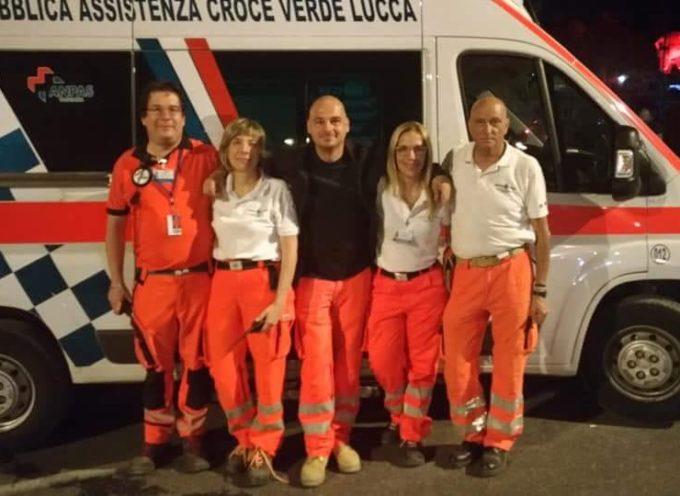 Summer Festival 2018: il grande impegno della Croce Verde di Lucca