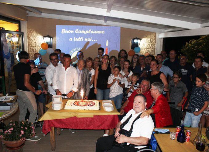Grande festa per il primo compleanno di Luccasenzabarriere onlus