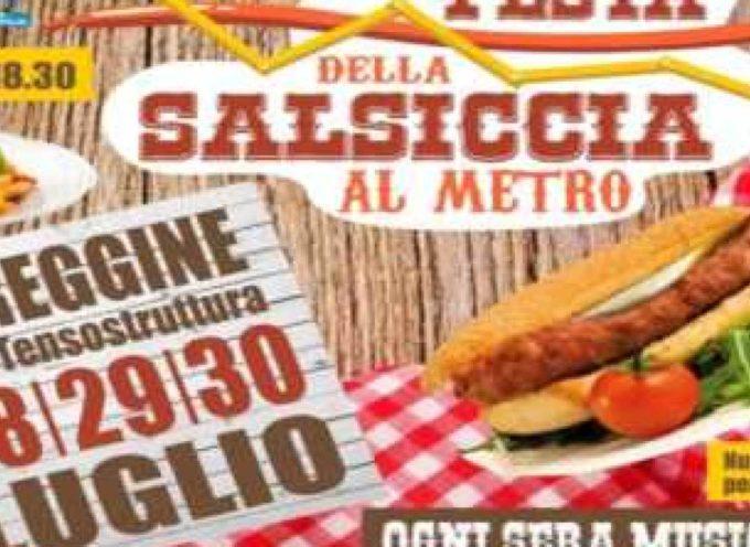 Festa della Salsiccia al metro, a Careggine