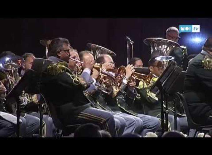 Grande spettacolo a Castelnuovo per il concerto della Guardia di Finanza