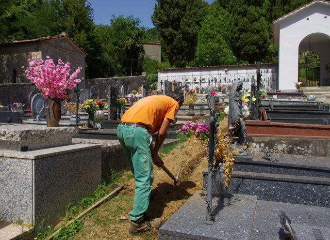 Cimiteri, al via interventi di manutenzione nelle frazioni di Pescaglia