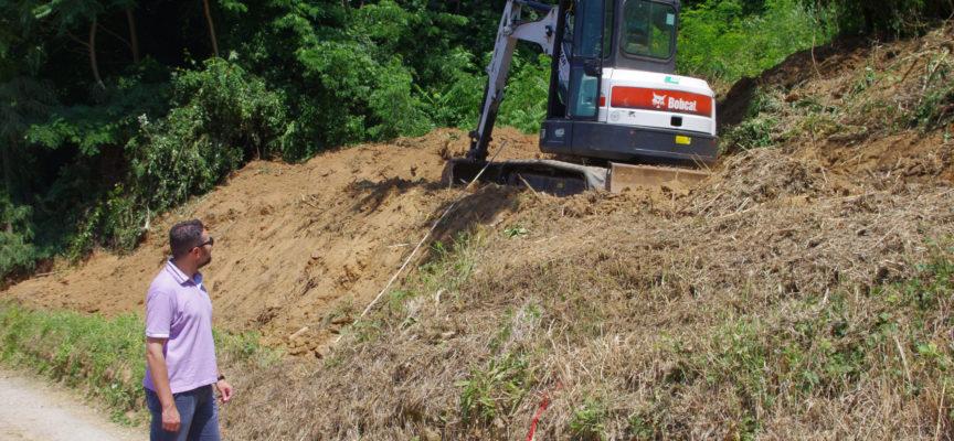 Difesa del suolo, in corso a San Martino in Freddana maxi intervento di ripristino dopo l'alluvione del 2014