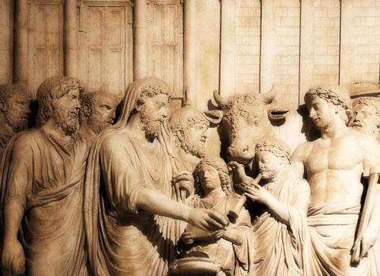 Nell'Antica Roma, 19-21 Luglio, le Lucaria in onore di Lucar, la divinità dei boschi