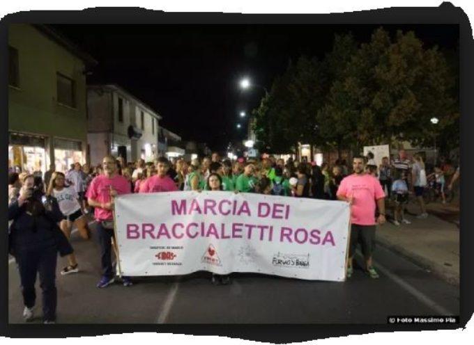 La Marcia dei Braccialetti Rosa.. Fornaci di Barga