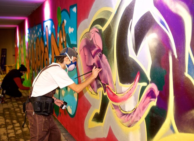 CAPANNORI – PARTE IL 17 LUGLIO LA SECONDA EDIZIONE DEL CORSO GRATUITO DI GRAFFITI