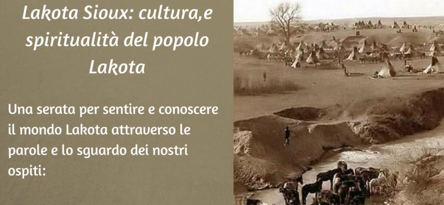"""""""Occhi di un uomo comune"""": a Loppeglia incontro sul popolo Lakota Sioux"""