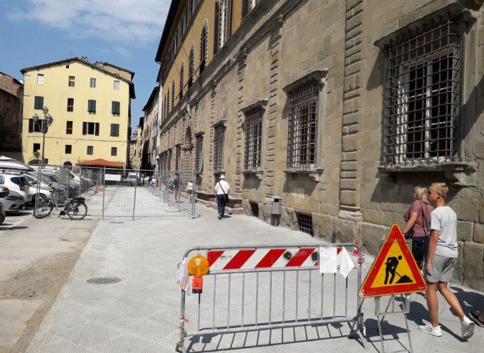 Piazza Bernardini: da lunedì 30 partono i lavori per l'asfaltatura