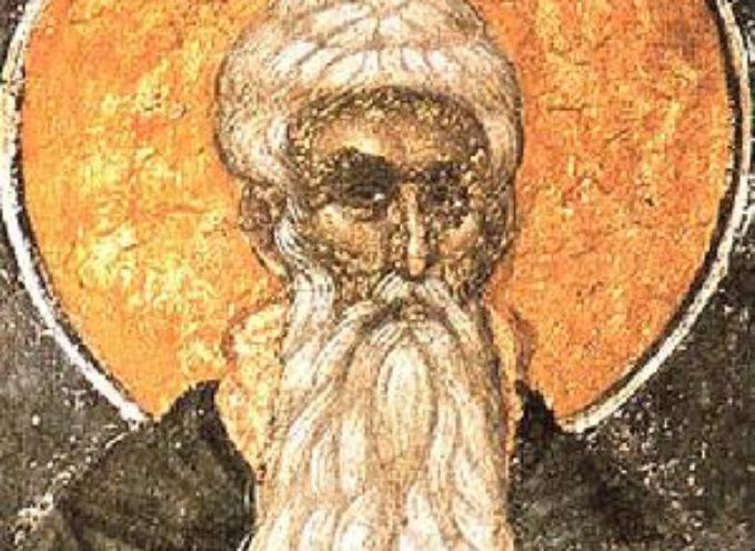 Il Santo del giorno, 19 Luglio: S. Arsenio, il Grande