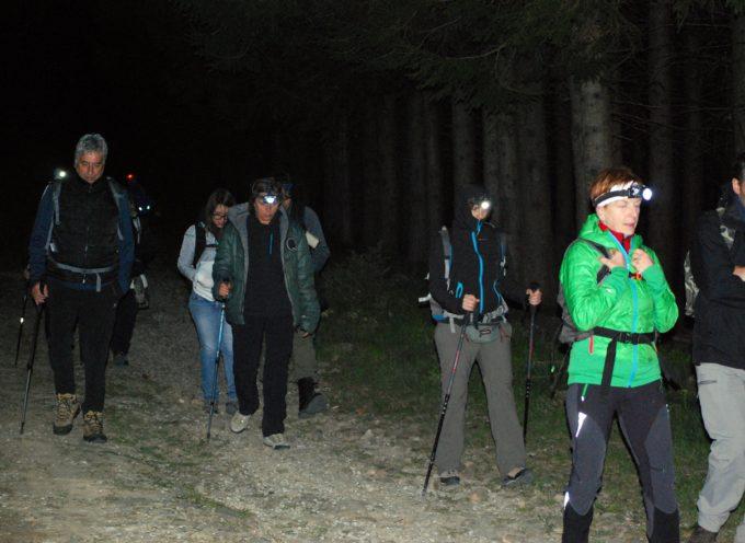 Escursione notturna in Appennino