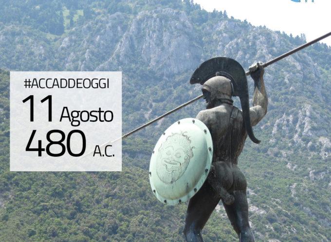 Accadde oggi, 11 Agosto: 480 a.C., la Battaglia delle Termopili