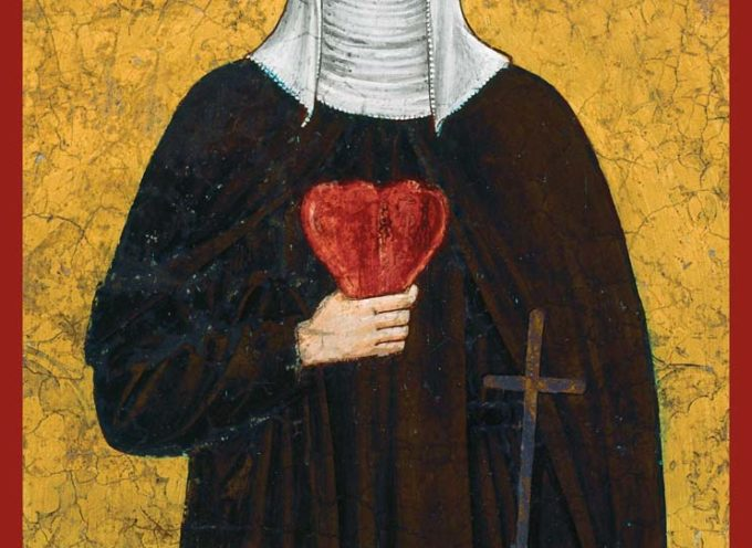 Il Santo del giorno, 17 agosto S. Chiara da Montefalco o Chiara della Croce