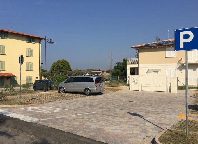 Rinnovo urbano: una nuova area di sosta in via Frasso a Querceta