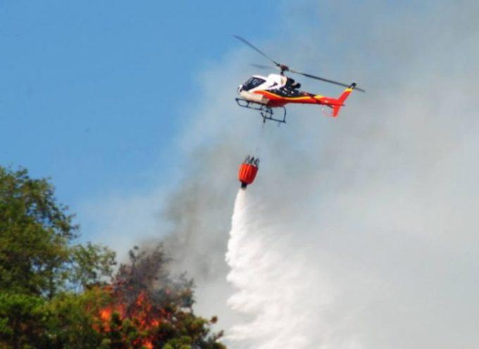 Incendio doloso ad Orbicciano frazione del comune di Camaiore;