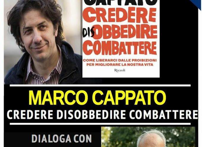 al Teatro di Verzura: Marco Cappato presenta il suo libro