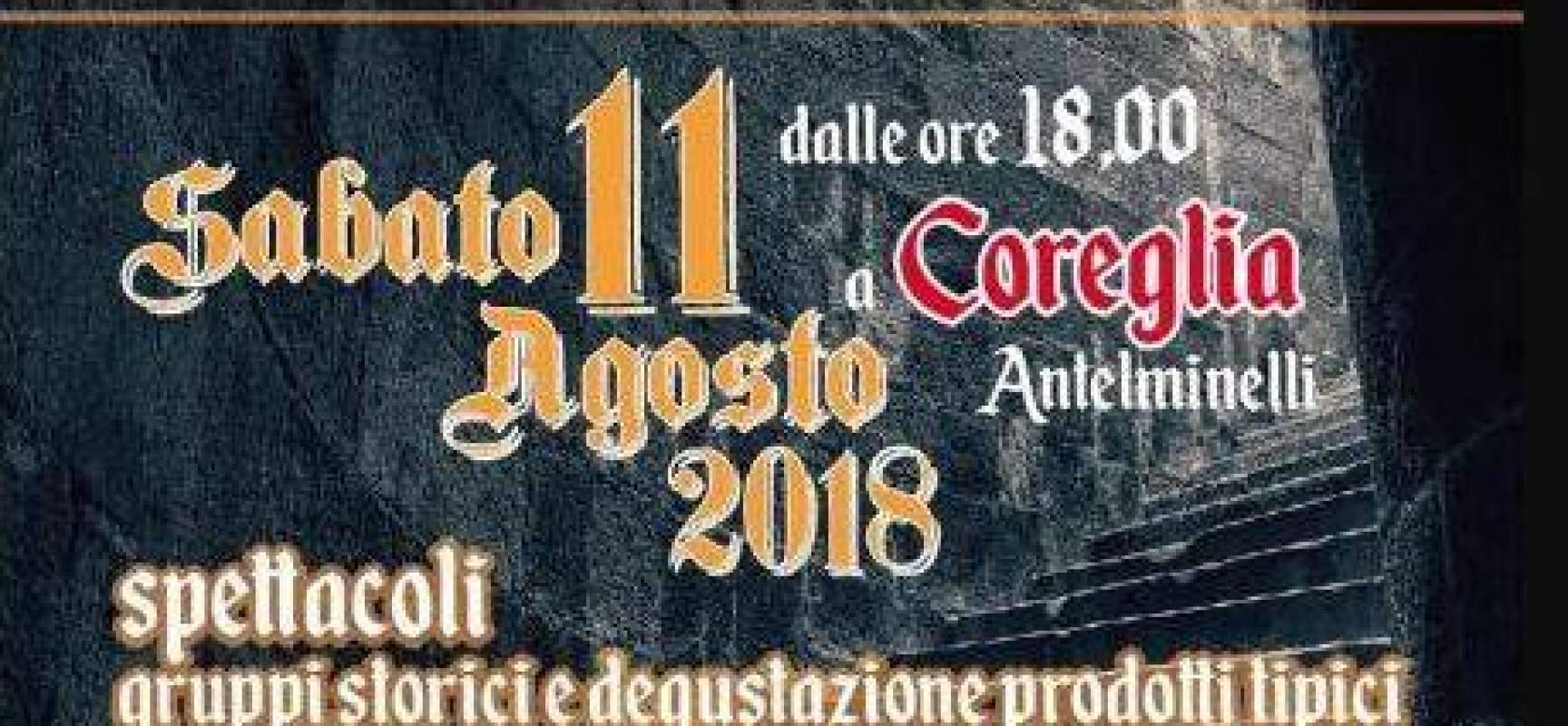 Festa Medievale 2018, a  Coreglia Antelminelli