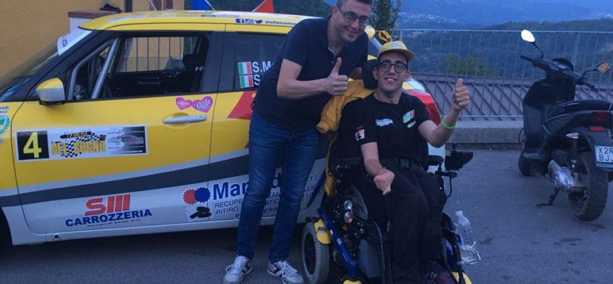 Puglianella, i campioni del rally regalano un … Sogno