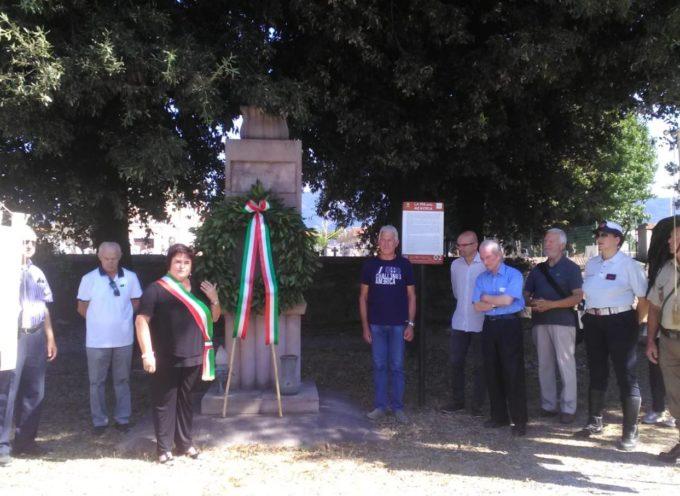 ieri  mattina nel piazzale della chiesa di Lunata sono stati commemorati i Martiri Lunatesi,