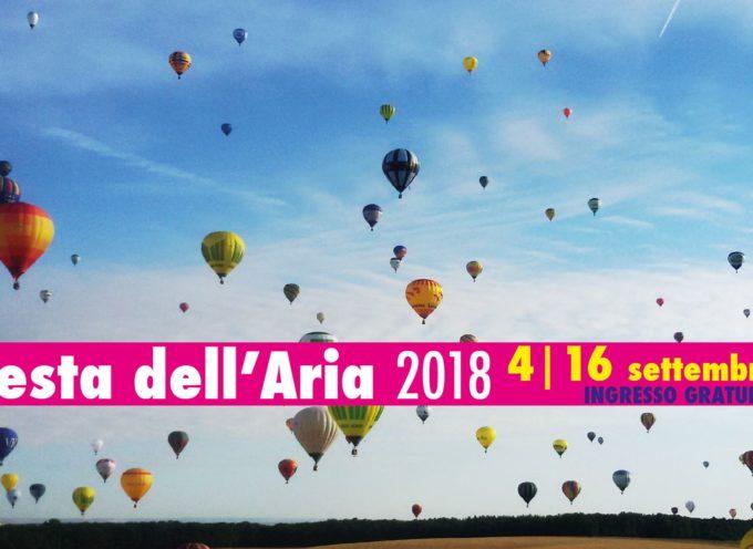 dal 4 al 16 settembre all'aeroporto di Capannori, a Tassignano, la Festa dell'Aria,