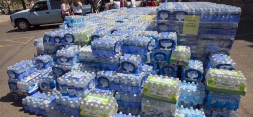 Reato esporre le confezioni di acqua minerale al sole. Dura sentenza della Cassazione penale: