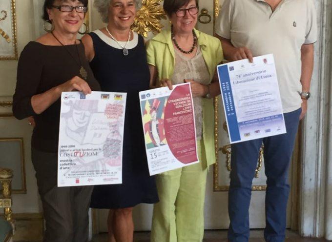 Un mese di mostre, teatro, viste guidate e approfondimenti: così Lucca ricorda il giorno della  Liberazione 74 anni dopo