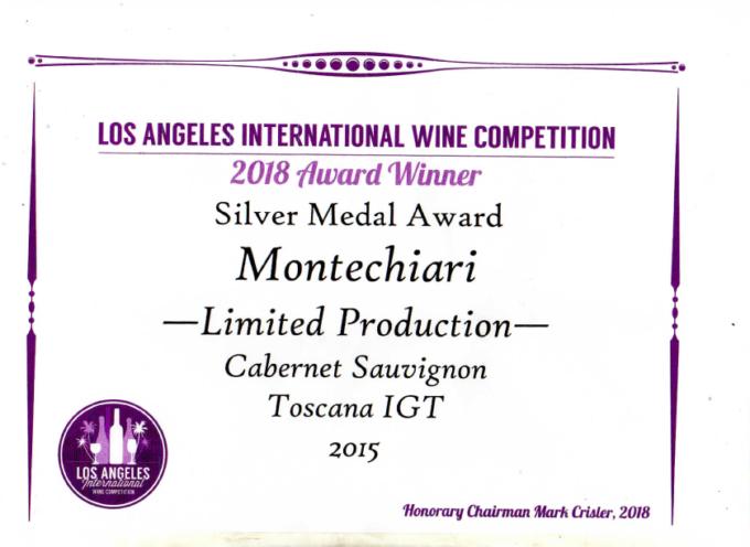 Nuovi prestigiosi premi internazionali per i Vini della Fattoria Montechiari dei coniugi Panattoni, a Montecarlo.