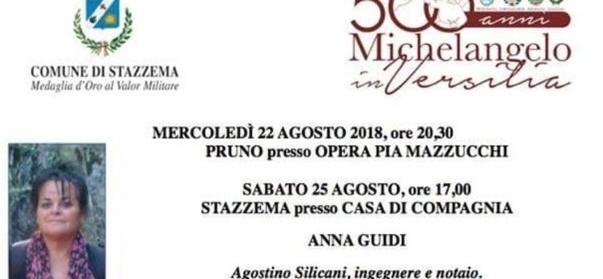 ANNA GUIDI ricorda Agostino Silicani, ingegnere e notaio, a Stazzema