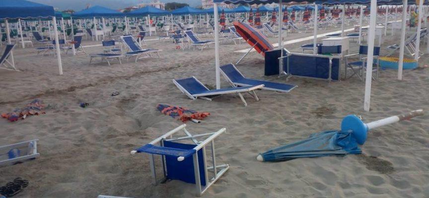 Atti vandalici negli stabilimenti balneari vicini al Pontile di Marina di Pietrasanta