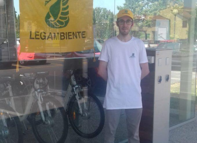 Nuovo servizio di bike sharing elettrico,   fino al 31 ottobre sarà gestito dai volontari di Legambiente