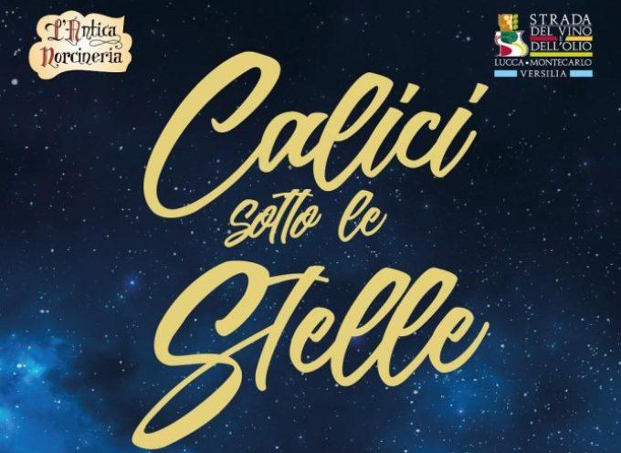 Appuntamento da non perdere a Ghivizzano con i vini lucchesi, Calici sotto le stelle a cura de: Strada del Vino e dell'Olio presso la Eat-valley