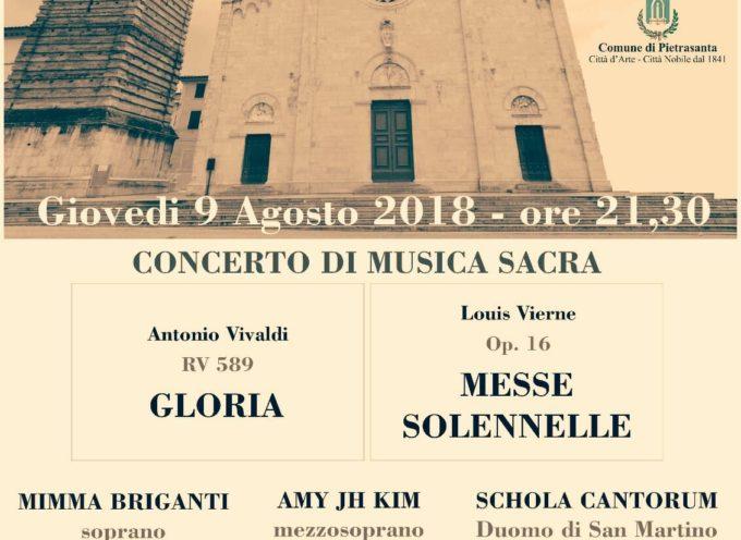 Musica sacra a Pietrasanta, Collegiata San Martino