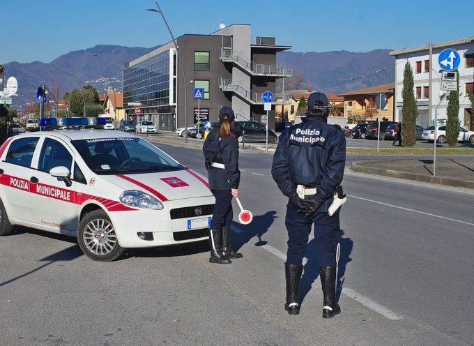 CAPANNORI – Polizia Municipale:da gennaio ad oggi elevate 1875 multe.