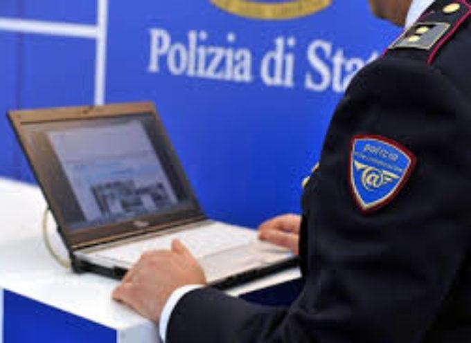 """L'allarme della Polizia Postale: """"Attenzione!!! Phishing ai danni di istituti bancari""""."""