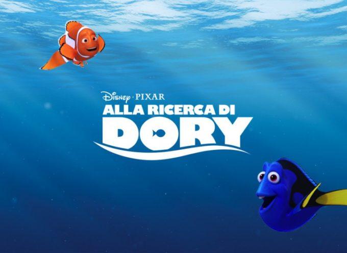 Alla Ricerca di Dory, cinema gratis al bagno Panoramic (6 agosto)