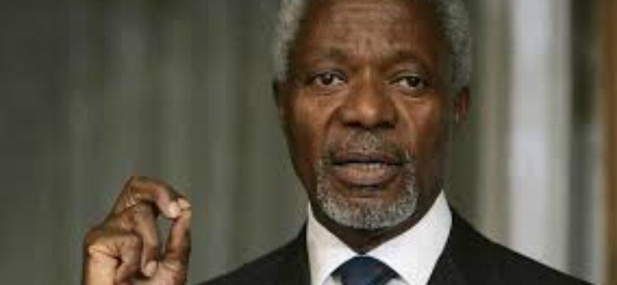 E´morto l´ex segretario generale dell´ONU, Kofi Annan