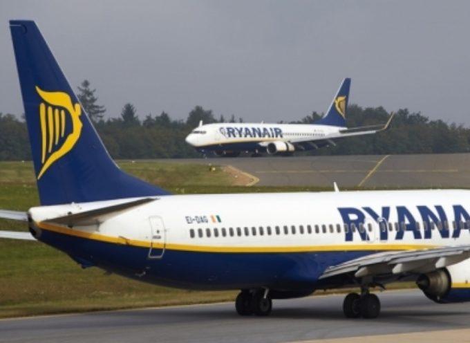 Piloti Ryanair di nuovo in sciopero. La protesta è in programma per il 10 agosto.