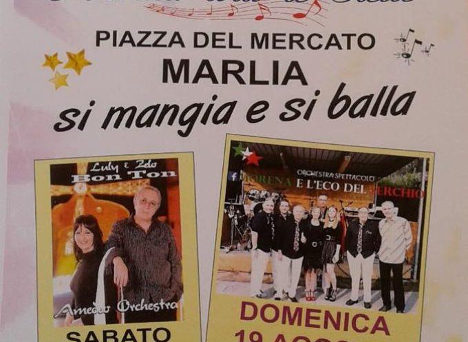 18 e 19 agosto A Marlia si mangia e si balla con Musica Sotto Le Stelle organizza la banda La Campagnola