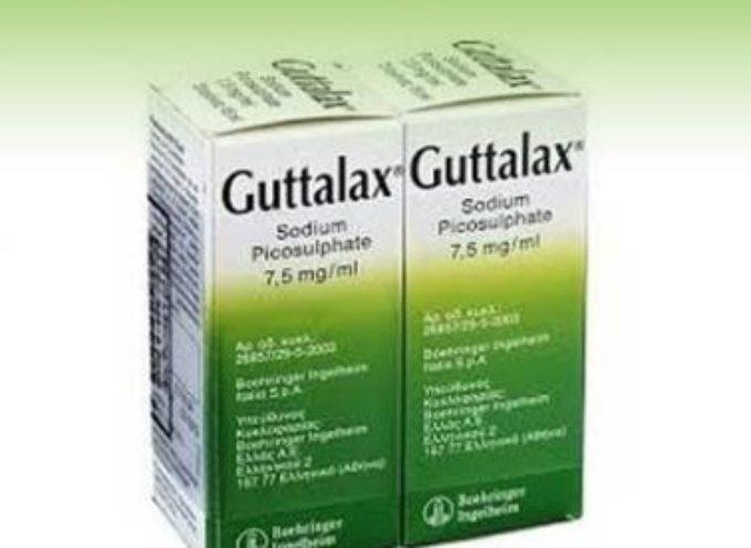 GUTTALAX nuovo ritiro del lassativo dalle farmacie. Ecco i lotti
