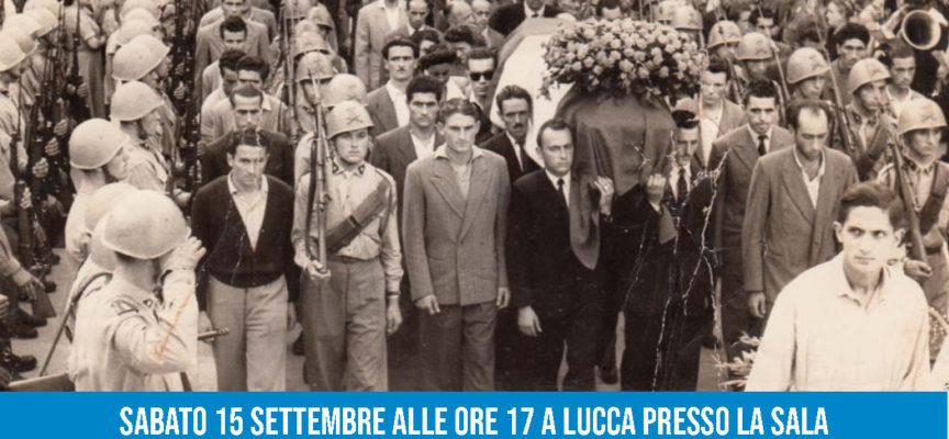 """un convegno a lucca per ricordare il comandante partigiano Manrico Ducceschi """"Pippo"""""""