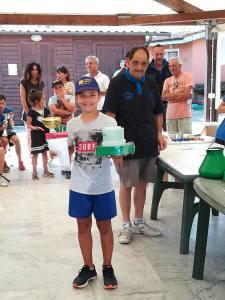 momento premiazione scuola pesca Lenza S. Alessio 2018