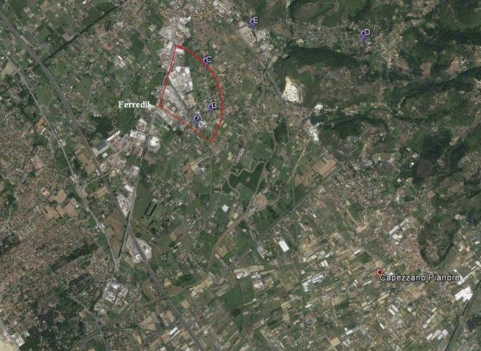 I risultati analitici per l'incendio a Pietrasanta (Lucca)