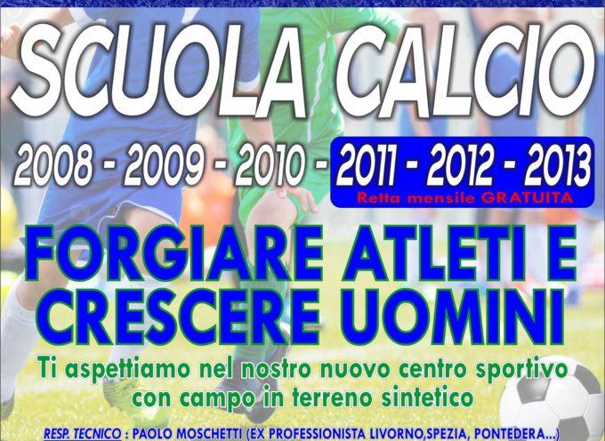 Il Seravezza inizia un nuovo percorso con il progetto Scuola Calcio