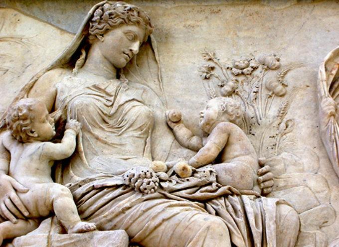 Nell'Antica Roma, 1 Settembre: Festa del Dies Natalis di Tellus, la Dea della Terra, protettrice della fecondità, dei morti e invocata contro i terremoti