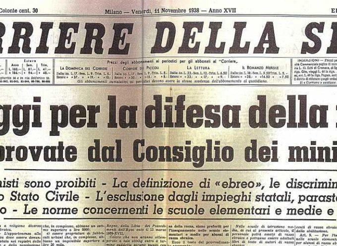 Accadde Oggi, 18 Settembre: 1938, il via in Italia alle famigerate leggi sulla razza