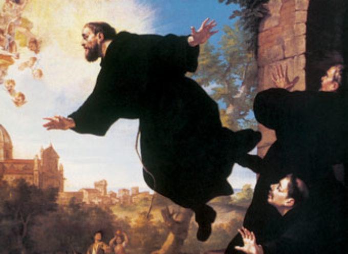 Il Santo del giorno, 18 Settembre: S. Giuseppe da Copertino, patrono degli studenti che si impegnano e degli aviatori,