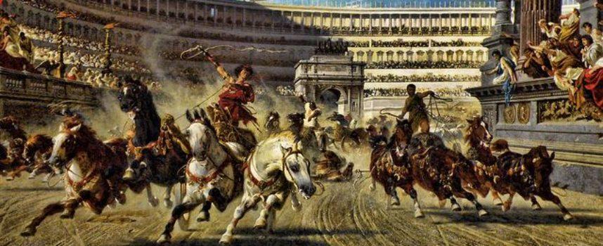 Nell'Antica Roma, 19 settembre: conclusione dei Ludi Romani o Ludi Magni, in onore di Giove
