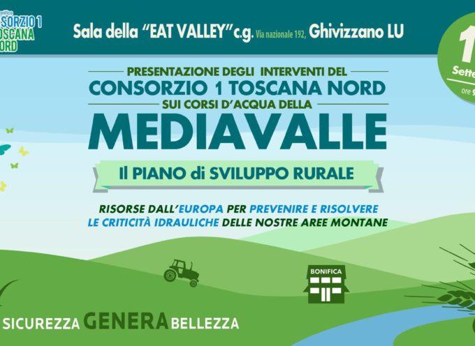 Presentazione degli interventi del Consorzio 1 Toscana Nord sui corsi d'acqua della Mediavalle